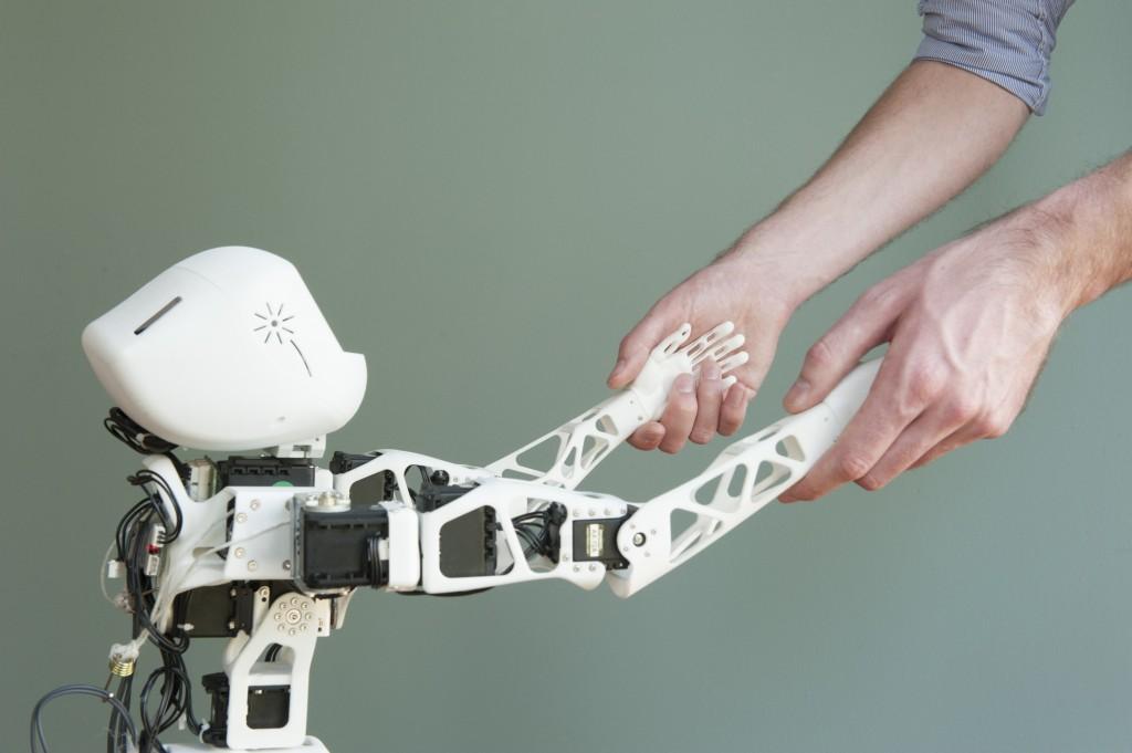 Un robot Poppy. Crédit Génération Robots