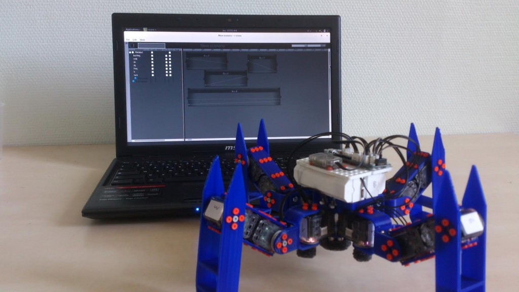 Un MetaBot contrôlé par SCRIME - Crédit Jean-Michaël Celerier