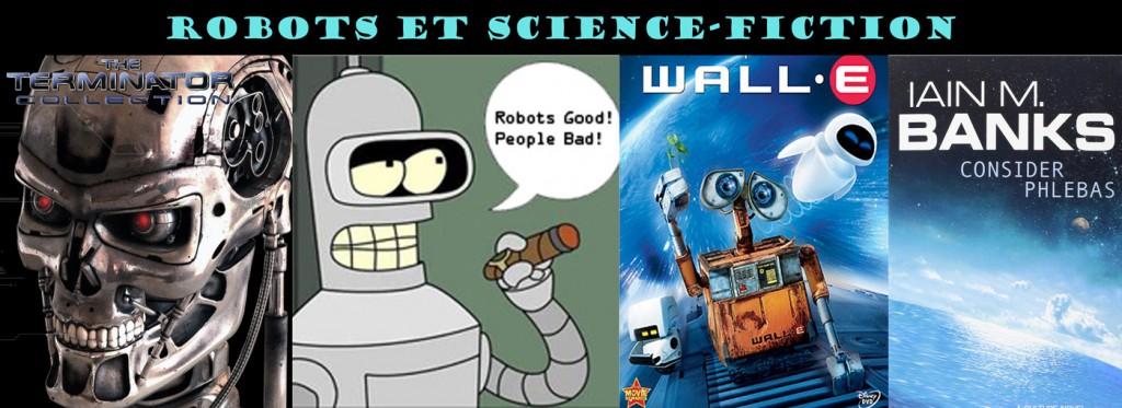 Les robots et la science-fiction. Crédit Henry Elophe.