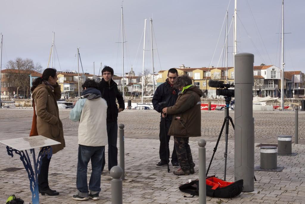 Le tournage - Crédit Olivier Sigaut